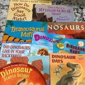 9 Dinosaur Kids Books